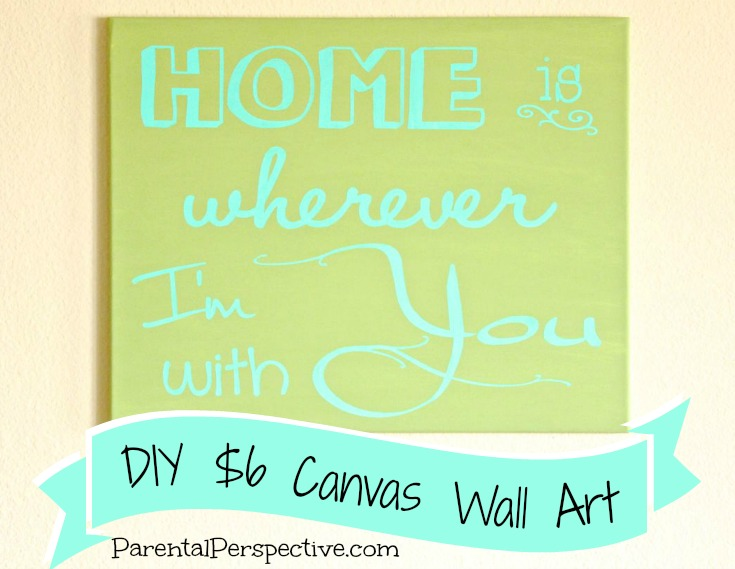 Silhouette Wall Art Diy Diy-silhouette-canvas-wall-art