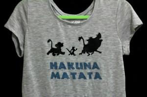 HakunaMatataShirtTeeTshirtDiyLionKing