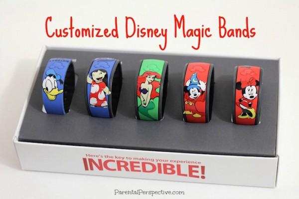 Customized Disney Magic Bands Parental Perspective - Magic band vinyl decals