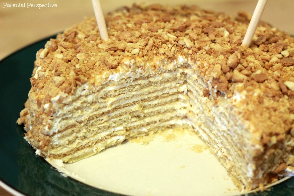Russian layer cake