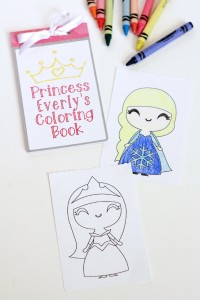 Diy-Kids-Printable-Coloring-Book-Silhouette-Cameo-Portrait